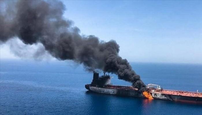 إعلام عبري: مسيرة إيرانية هاجمت ناقلة النفط الإسرائيلية قبالة ساحل عمان