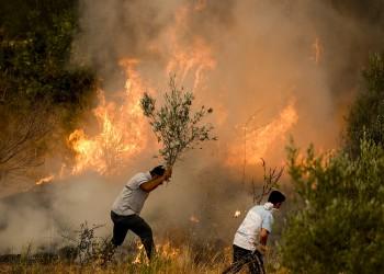 جراء الحرائق.. أردوغان يعلن5 ولايات مناطق منكوبة