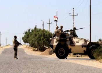 مقتل 5 من عناصر الأمن المصري وإصابة آخرين في كمين لتنظيم الدولة بسيناء