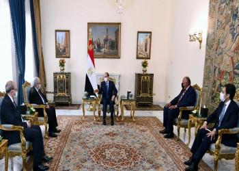 السيسي ولعمامرة يبحثان ملف سد النهضة والأوضاع في ليبيا وتونس