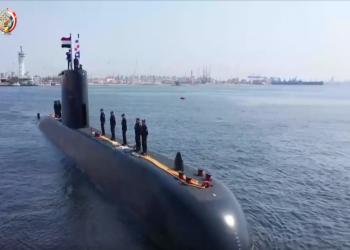 الجيش المصري يعلن ضم غواصة ألمانية جديدة لأسطوله البحري