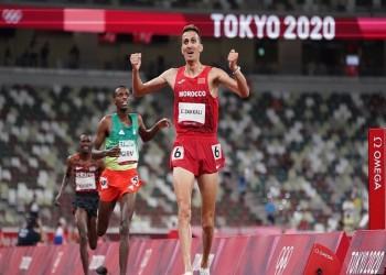سفيان البقالي يمنح المغرب أول ذهبية في أولمبياد طوكيو (فيديو)