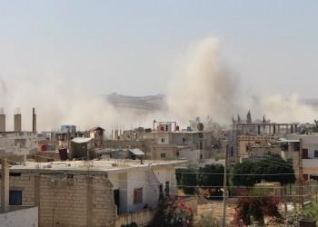 قوات النظام السوري تقصف درعا البلد وتحاول اقتحام أحيائها