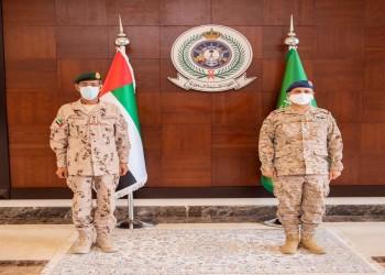 السعودية والإمارات تبحثان سبل تطوير علاقات التعاون العسكري
