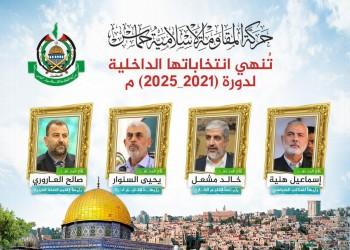 """انتخابات """"حماس"""".. لماذا بقي هنية والعاروري وعاد مشعل؟"""