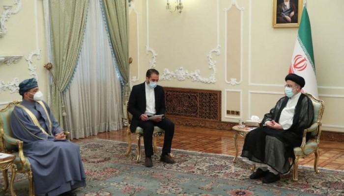 وسط تحشيد دولي ضد إيران.. رئيسي يستقبل وزير خارجية عمان