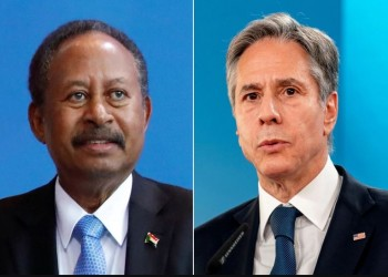 حمدوك وبلينكن يبحثان سبل وقف الصراع في إقليم تيجراي الإثيوبي