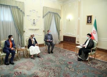 رئيسي يستقبل وفدا حوثيا حضر لطهران للمشاركة بمراسم تنصيبه