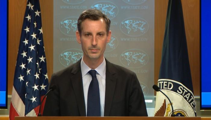 أمريكا تدين الهجمات الصاروخية من جنوبي لبنان على إسرائيل