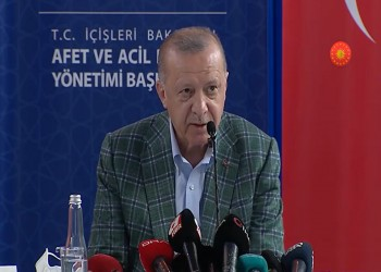 أردوغان ينتقد استغلال حرائق الغابات لتحقيق غايات سياسية