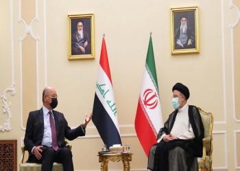 برهم صالح أول رئيس عربي يلتقي رئيسي.. ماذا دار بينهما؟