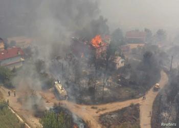 السيطرة على 180 حريقا في 38 ولاية تركية