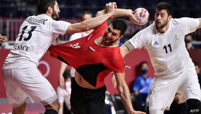 طوكيو 2020.. مصر تخسر أمام فرنسا وتنافس إسبانيا على برونزية كرة اليد