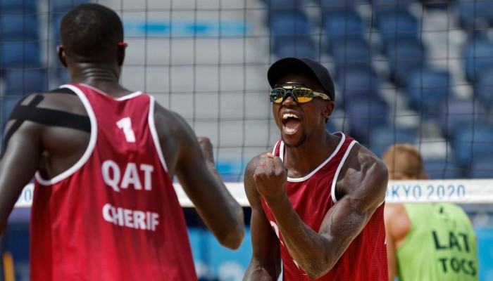 أولمبياد طوكيو.. قطر تحصد برونزية الكرة الطائرة الشاطئية