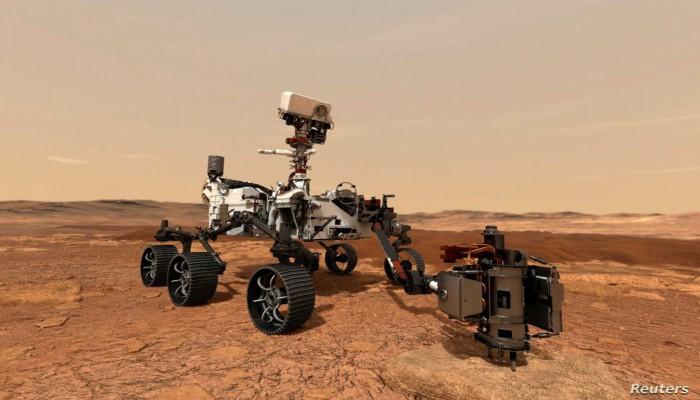 روبوت ناسا يفشل في محاولته الأولى لأخذ صخرة من المريخ