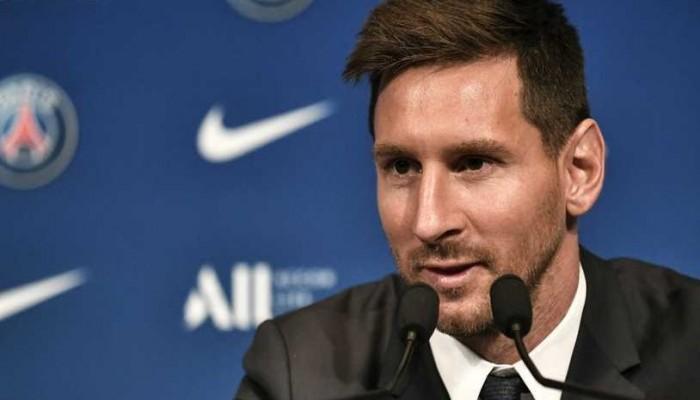 ميسي بعد انضمامه لسان جيرمان: متشوق لمواجهة برشلونة