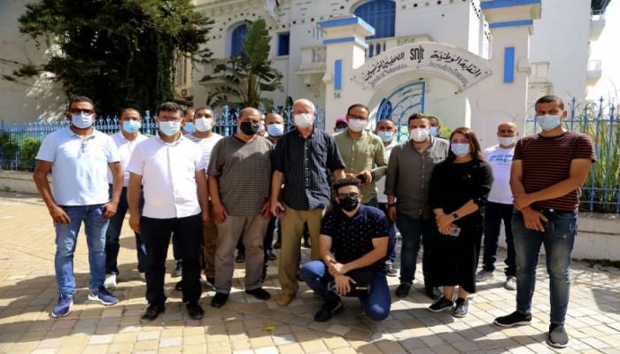 نقابة الصحفيين التونسيين تدعو سعيد لإعادة فتح مكتب الجزيرة