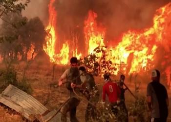 الجزائر تعلن إخماد حرائق ولاية تيزى وزو واستمرار إطفائها في 35 ولاية