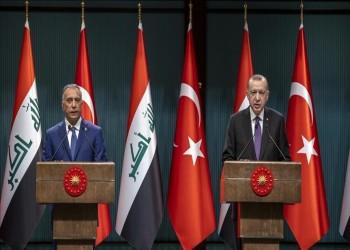 أردوغان يعرب عن رضاه عن مسار العلاقات التركية العراقية