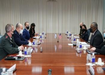 رئيس الوزراء الإسرائيلي يلتقي وزيري الخارجية والدفاع الأمريكيين بواشنطن