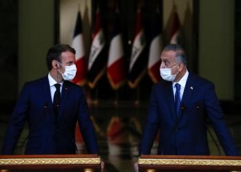 الرئيس الفرنسي ماكرون يصل إلى بغداد لحضور مؤتمر دول جوار العراق