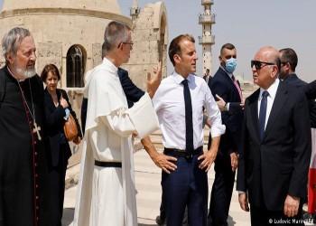 من الموصل.. ماكرون يتعهد بدعم المسيحيين في العراق