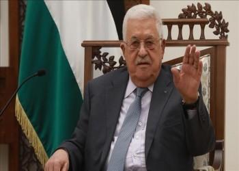 مسؤولون إسرائيليون يستنكرون لقاء جانتس- عباس