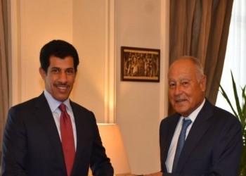 سفير قطر بمصر يقدم أوراق اعتماده مندوبا لبلاده بالجامعة العربية