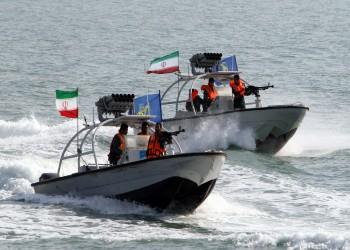 استعراض بحري للحرس الثوري الإيراني في مياه الخليج