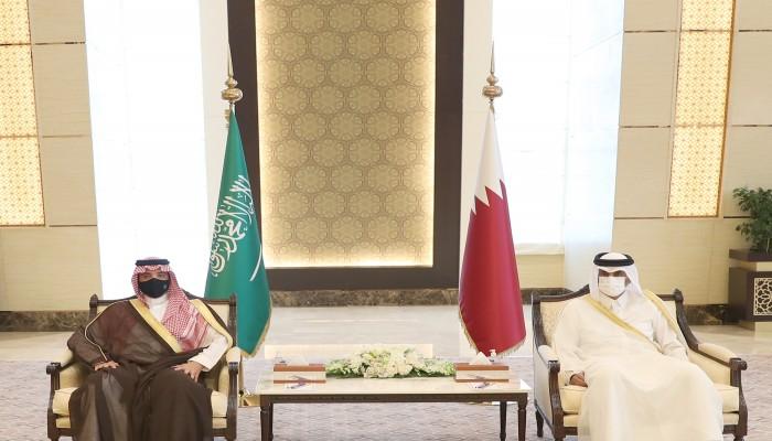 وزير الداخلية القطري يعلق على مباحثاته مع نظيره السعودي.. ماذا قال؟