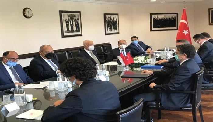 مصر وتركيا في بيان مشترك.. نحتاج لخطوات إضافية لتطبيع العلاقات