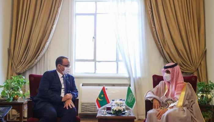 السعودية وموريتانيا تبحثان العلاقات الثنائية وقضايا المنطقة