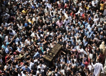 مصر تودع محمود العربي في جنازة مهيبة