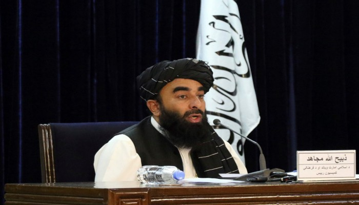 مناورة دول الخليج في أفغانستان بعد سيطرة طالبان