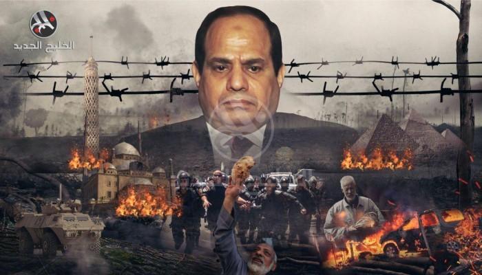استراتيجية السيسي لحقوق الإنسان.. قبضة الزنازين تحكم مصر