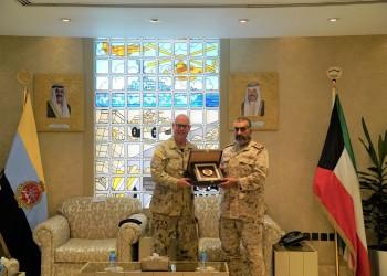 الجيش الكويتي يبحث التعاون العسكري مع كندا