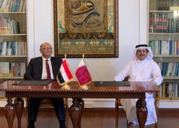 قطر ومصر توقعان مذكرات تفاهم جديدة في مجالي البريد والطيران