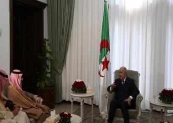 بن فرحان يبحث مع تبون التعاون السياسي لدعم الاستقرار في المنطقة