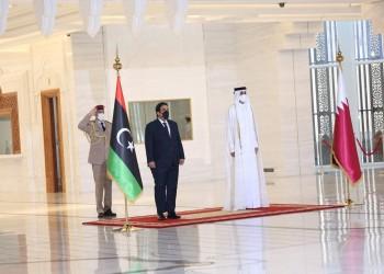 أمير قطر يبحث مع المنفي الأوضاع في ليبيا والعلاقات الثنائية