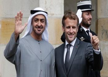 بن زايد وماكرون يبحثان في باريس علاقات الشراكة