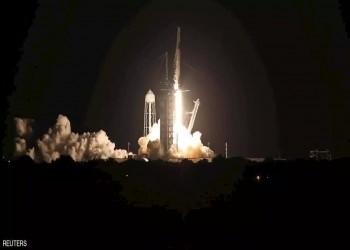 """شاهد.. """"سبيس إكس"""" تطلق أول رحلة سياحية إلى الفضاء (فيديو)"""