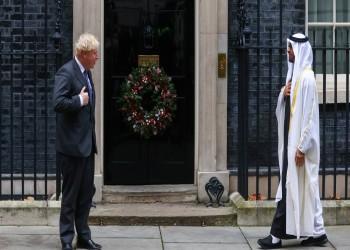 محمد بن زايد يصل بريطانيا وجونسون يستقبله
