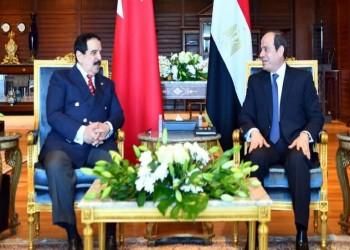 السيسي وملك البحرين يبحثان أزمة سد النهضة وإعمار غزة
