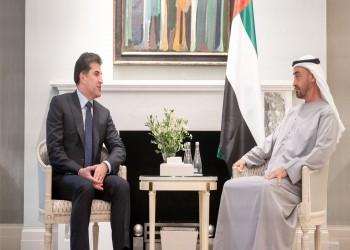 بن زايد ورئيس كردستان يبحثان العلاقات الثنائية في لندن