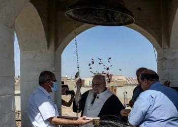 بعد 7 سنوات من الصمت.. جرس كنيسة يقرع بالموصل