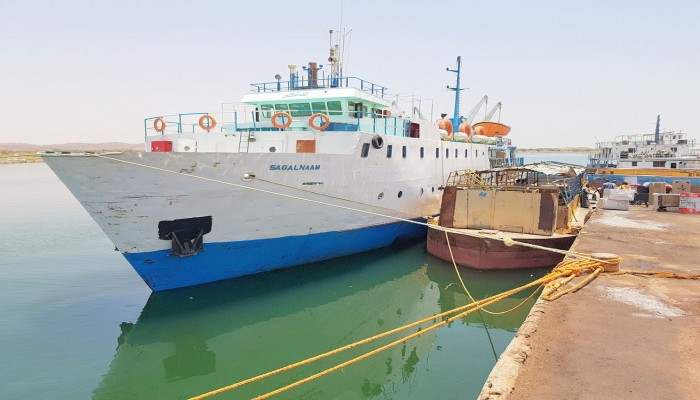 فريق هندسي مصري يطور ميناء وادي حلفا السوداني