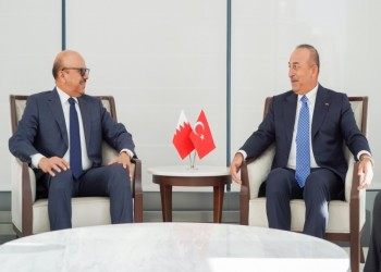 نيويورك.. وزيرا خارجية تركيا والبحرين يبحثان المستجدات الإقليمية