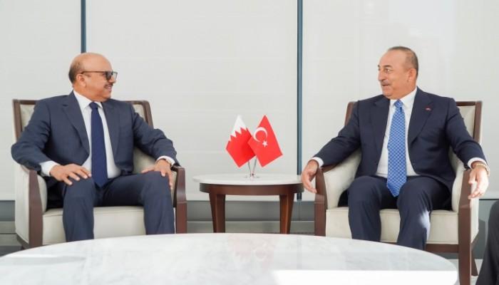 وزيرا خارجية تركيا والبحرين يبحثان في نيويورك المستجدات الإقليمية