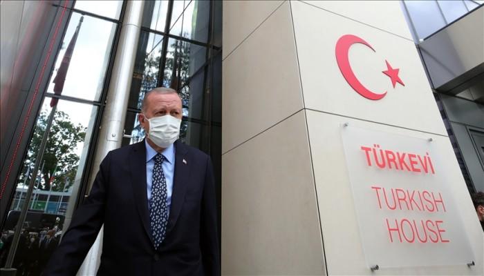 البيت التركي.. مبنى دبلوماسي ضخم لأنقرة بنيويورك وأردوغان: يعكس قوتنا (صور)