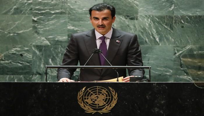 أمير قطر أمام الأمم المتحدة: بيان العلا تجسيد لحل الخلافات بالاحترام